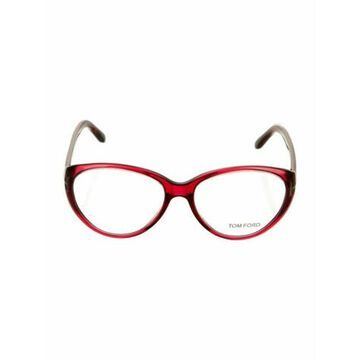 Round Eyeglasses Red