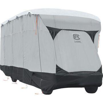 Classic Accessories SkyShield Class C RV Cover - Gray, Fits 23ft.L-26ft.L x 122Inch Tall Class C RVs, Model 80-377-101601-EX