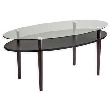 Adesso Dwight Coffee Table In Walnut