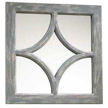 Wall Mirror Cyan Design Ashton Distressed