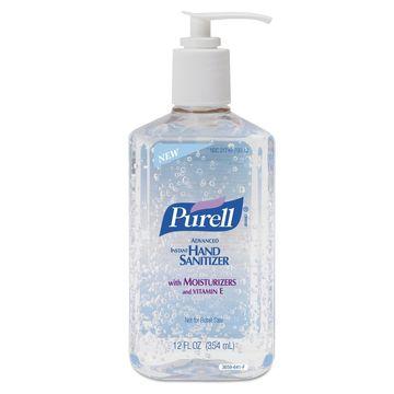 PURELL Advanced Instant Hand Sanitizer 12-oz. Pump Bottle 365912CT