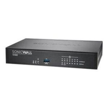 SonicWall TZ400 - Advanced Edition - security appliance - 7 ports - GigE - SonicWALL Secure Upgrade Plus Program (2 years option)