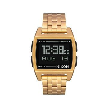 Nixon Mens Base Quartz Stainless Steel Casual Watch All Gold