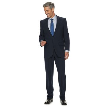 Men's Croft & Barrow Classic-Fit Pleated Stretch Suit