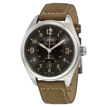 Hamilton Khaki Field Automatic Black Dial Mens Watch H70505833
