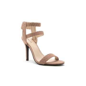 Qupid Womens Katana-05 Heeled Sandals