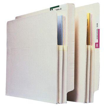 Pendaflex Manila Convertible End-Tab File Pockets, Letter Size, 5 1/4