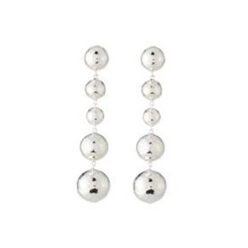 Classico Long Graduated Ball Earrings