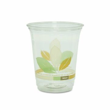 DART Bare Eco-Forward RPET Cold Cups 12-14 oz Clear 50/Pack 1000/Carton