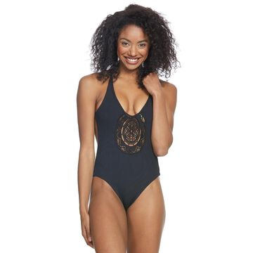 Rip Curl Women's Designer Surf Rib Good One Piece Swimsuit