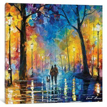 iCanvas ''Rainy Park'' by Leonid Afremov