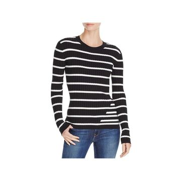 T by Alexander Wang Womens Pullover Sweater Wool Blend Fitted