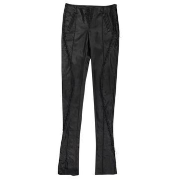 Altuzarra Black Synthetic Trousers