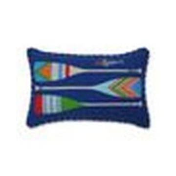 Pillow Perfect Lake Life Oars Accent Pillow