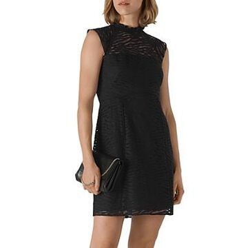 Whistles Animal Lace Dress