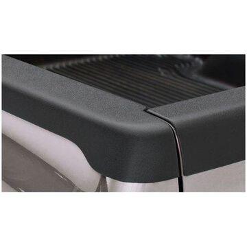 Bushwacker 95-04 Toyota Tacoma Fleetside Bed Rail Caps 74.5in Bed Does Not Fit Flareside - Black