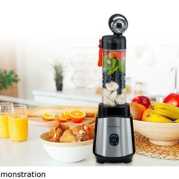 Rosewill Personal Vacuum Blender Portable Travel Bottle Smoothie Juice BPA Free
