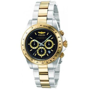Invicta Men's 9224 Speedway S Series Two-Tone Stainless Steel Link Bracelet Watch