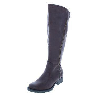 Baretraps Womens Oria2 Wide Calf Knee-High Riding Boots