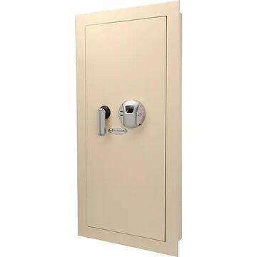 Barska Large Biometric Wall Safe - Cream (Ax12408)