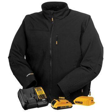 DEWALT Heated Soft Shell Jacket with Battery (XL)