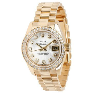 Rolex Datejust 36mm White Yellow gold Watches