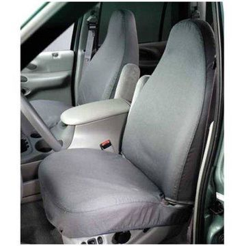 Covercraft Seatsaver Front Row Polycotton Grey