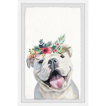 Parvez Taj Jolly Puppy Framed Wall Art