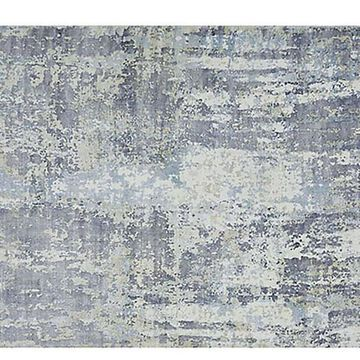 Hagues Rug - Blue/Gray - Solo Rugs - 5'x8' - Blue, Gray, Beige