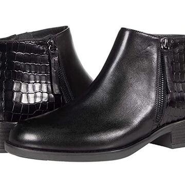Geox Resia 2 (Black) Women's Shoes