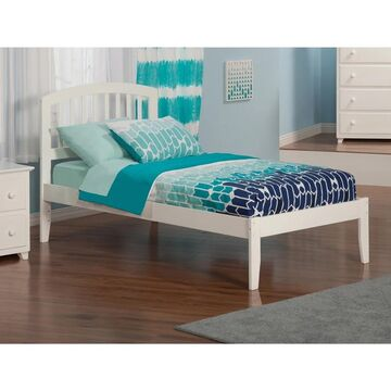 Richmond White Twin-size Open-foot Mission Bed