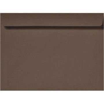 6 x 9 Booklet Envelopes - Chocolate (1000 Qty.)