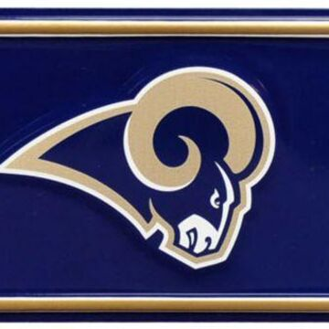 Authentic Street Signs Los Angeles Rams Man Cave' Street Sign