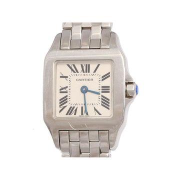 Cartier Santos Demoiselle Silver Steel Watches
