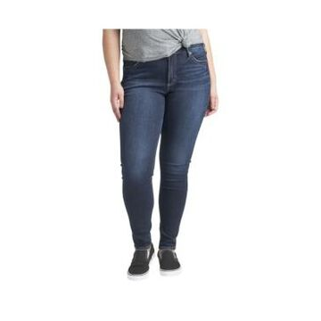 Silver Jeans Co. Plus Size Suki Mid Rise Skinny Jeans