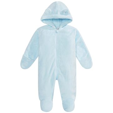 Baby Boys & Girls Hooded Footed Faux-Fur Bunting Snowsuit, Created for Macy's