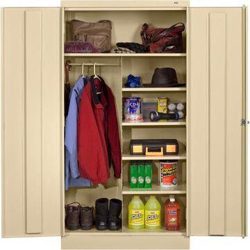 Tennsco Combination Wardrobe/Storage Cabinet
