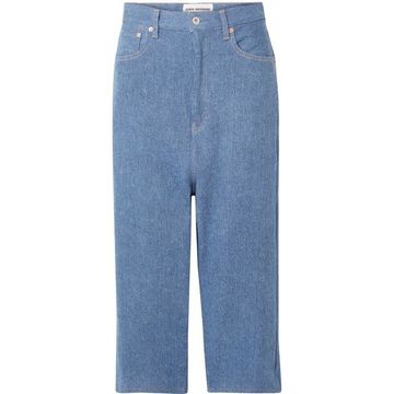 Junya Watanabe - Cropped Jeans - Blue