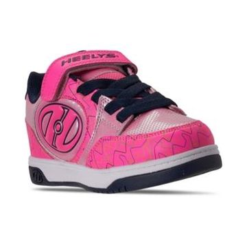 Heelys Big Girls Bolt Plus X2 Light-Up Wheeled Stay-Put Closure Casual Athletic Skate Sneakers from Finish Line