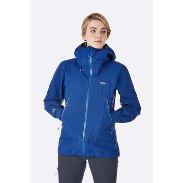 Rab Women's Kangri GTX Jacket - Small - Blueprint