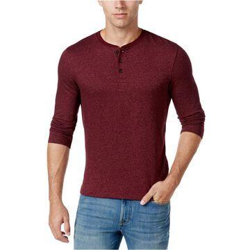 Club Room Mens Herringbone Henley Shirt
