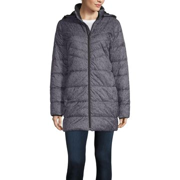 Xersion Hooded Lightweight Puffer Jacket