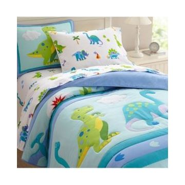 Wildkin's Dinosaur Land Twin Sheet Set Bedding