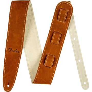 Ball Glove Leather Guitar Strap