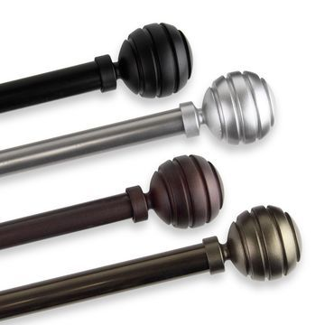 InStyleDesign Piper Adjustable Curtain Rod