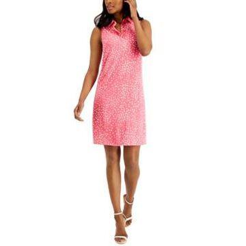 Anne Klein Geometric Print Sleeveless Dress
