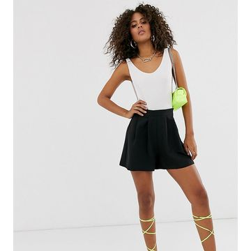 Vesper Tall tailored mini shorts in black