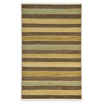 Unique Loom Monterey Nomad 5' x 8' Powerloomed Area Rug in Brown
