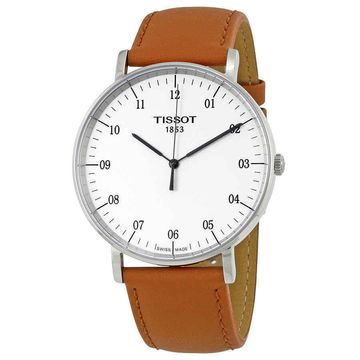 Tissot T-Classic Everytime Silver Dial Mens Watch T1096101603700