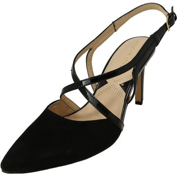 Adrienne Vittadini Women's Naven Ankle-High Suede Pump